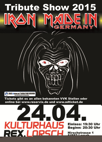 Iron Maiden in Germany - Iron Maiden Tribute
